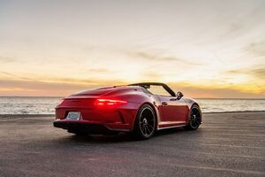 Porsche 911 Speedster 2020 8k Wallpaper