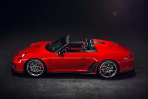 Porsche 911 Speedster Concept II 2018 Side View