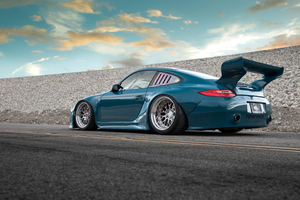 Porsche 911 Turbo 5k Wallpaper