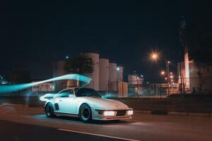 Porsche 911 Turbo Classic 5k Wallpaper