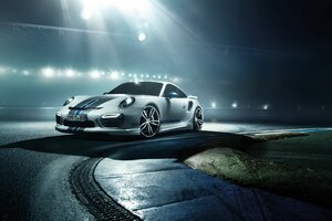 Porsche 911 Turbo Modified Wallpaper