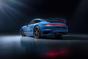 Porsche 911 Turbo S 2021 5k Wallpaper