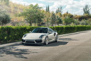 Porsche 911 Turbo S 8k Wallpaper