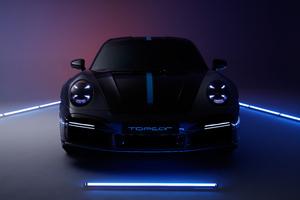 Porsche 911 Turbo S Stinger 8k Wallpaper