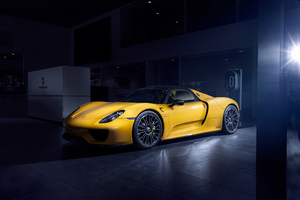 Porsche 918 Spider Wallpaper