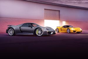 Porsche 918 Spyder 3 Wallpaper