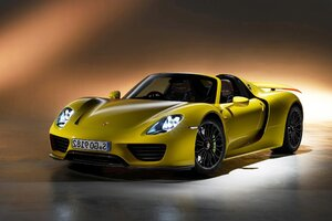 Porsche 918 Spyder Desktop Wallpaper