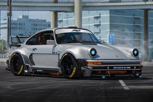 Porsche 930 Artwork 4k Wallpaper