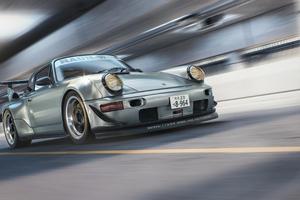 Porsche 964 RWB CGI Wallpaper