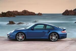 Porsche Blue Car