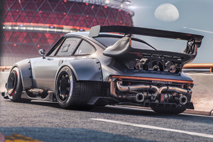 Porsche Car Modified 4k Wallpaper