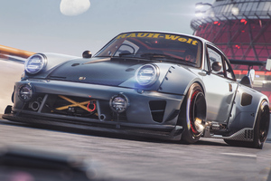 Porsche Car Track Wallpaper