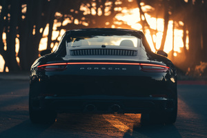Porsche Carrera 911 Black