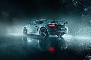 Porsche Cayman 5k 2021 Wallpaper