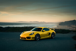 Porsche Cayman Front Wallpaper