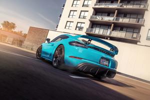 Porsche Cayman Gt4 2021 5k Wallpaper