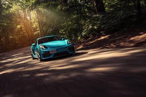 Porsche Cayman GT4 5k Wallpaper