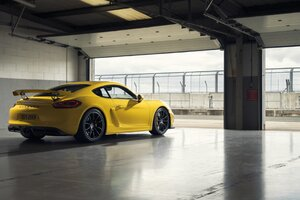 Porsche Cayman GT4 Sports Wallpaper