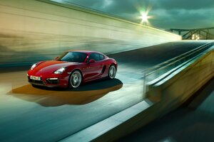 Porsche Cayman GTS PC Wallpaper