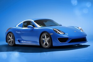 Porsche Cayman Moncenisio Wallpaper