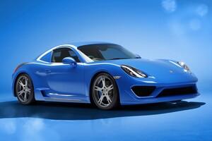 Porsche Cayman Moncenisio