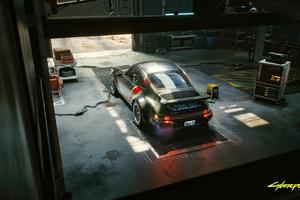 Porsche Cyberpunk 2077