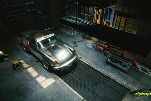 Porsche Cyberpunk 2077 4k
