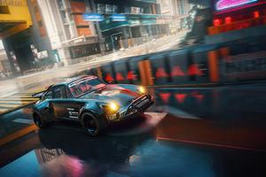 Porsche Cyberpunk 2077 5k