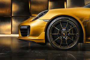 Porsche Exclusive Series Porsche 911 Turbo Wallpaper
