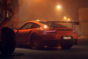 Porsche GT2RS Rear