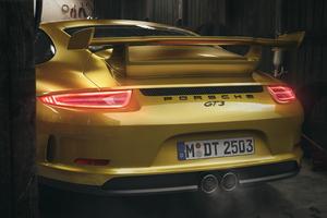 Porsche Gt3 Rear