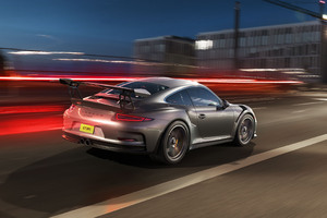 Porsche GT3RS 4k Rear