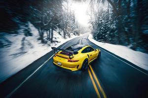 Porsche Gt3rs 5k Wallpaper