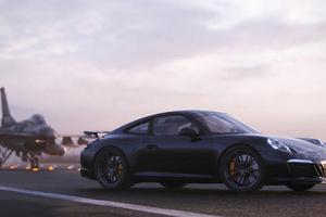 Porsche Jets Wallpaper