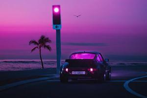 Porsche Miami Ride