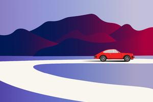 Porsche Minimalist 4k Wallpaper