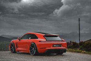 Porsche Mission C 4k Wallpaper