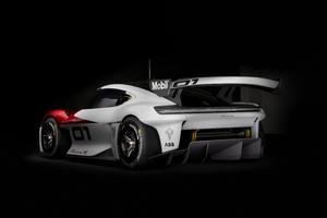 Porsche Mission R Wallpaper