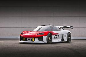 Porsche Mission R 8k 2021 Wallpaper