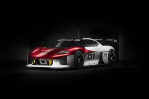 Porsche Mission R Concept Car 8k Wallpaper