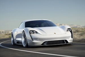 Porsche Misson E Wallpaper