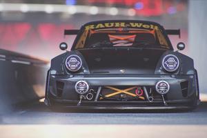 Porsche Modified 4k Wallpaper