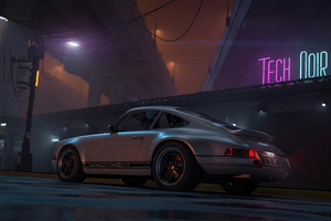 Porsche Outrun 4k Wallpaper