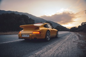 Porsche Rear 4k Wallpaper