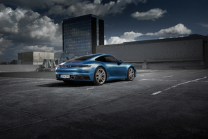 Porsche Rear Wallpaper