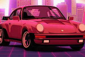 Porsche Retro Style