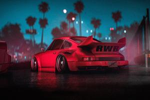 Porsche Rwb 911 4k Wallpaper