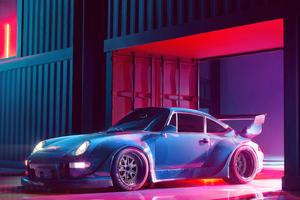 Porsche Rwb Concept 4k Wallpaper