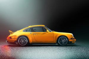 Porsche Singer 5k Wallpaper