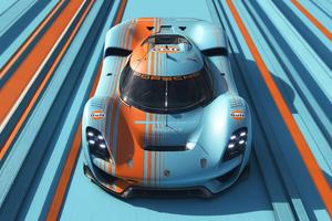 Porsche Vision 908 Gulf Edition Wallpaper